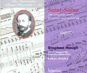 Stephen Hough / Sakari Oramo / Saint-Saens : 5 Piano Concerto - Romantic Piano Concerto Vol. 27 (2CD)