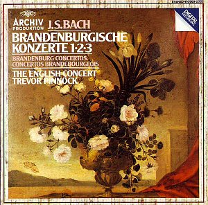 Trevor Pinnock / Bach: Brandenburgische Konzerte 1, 2, 3 - The English Concert