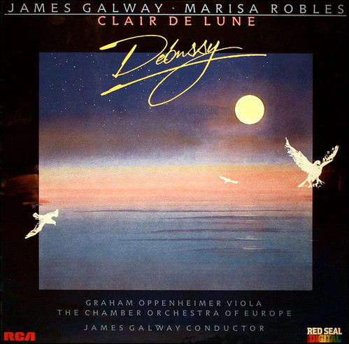 James Galway & Marisa Robles & Chamber Orchestra Of Europe / Clair De Lune - Music Of Debussy