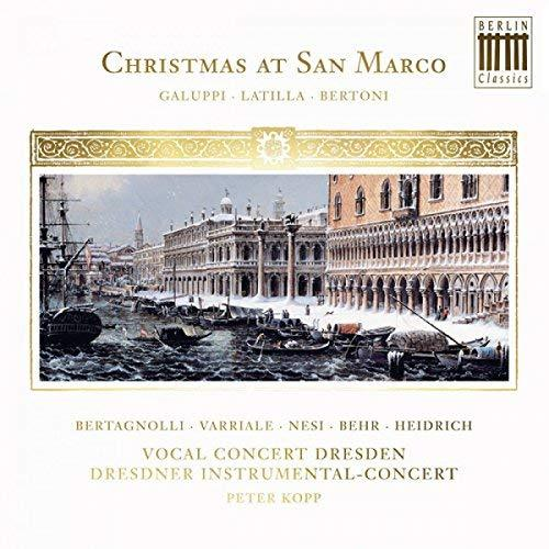 Peter Kopp / Christmas at San Marco (DIGI-PAK, 미개봉)