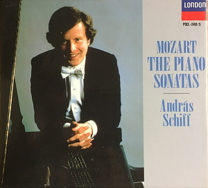 Andras Schiff / Mozart: The Complete Piano Sonatas (5CD, BOX SET)