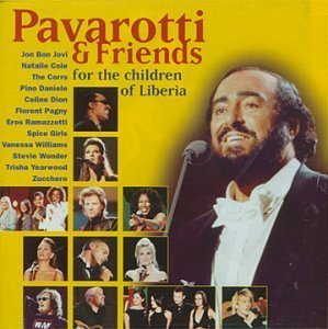Luciano Pavarotti & Friends / For The Children Of Liberia (미개봉)