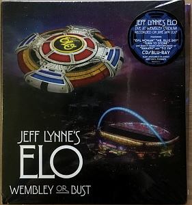 Jeff Lynne's ELO / Wembley Or Bust (2CD+Blu-ray, 미개봉)