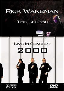 [DVD] Rick Wakeman / The Legend Live In Concert (DVD+CD)