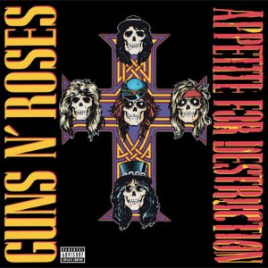 [LP] Guns N' Roses / Appetite For Destruction (180g, Back To Black - 60th Vinyl Anniversary) (미개봉)