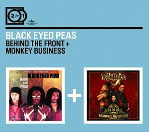 Black Eyed Peas / Behind The Front + Monkey Business (2CD, DIGI-PAK, 미개봉)