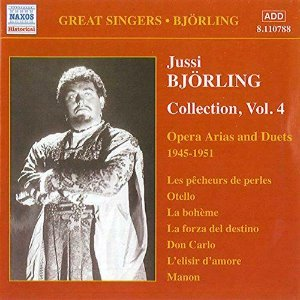 Jussi Bjorling / Bjorling Collection Vol.4, Opera Arias And Duets