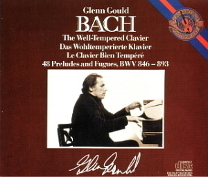 Glenn Gould / Bach: The Well-Tempered Clavier (Complete) 48 Preludes and Fugues BWV 846-893 (3CD)