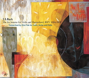 Benjamin Hudson / Eliot Fisk / Gyorgy Bognar / Bach: The Six Sonatas for Violin and Harpsichord BWV 1014-1019 (2CD)