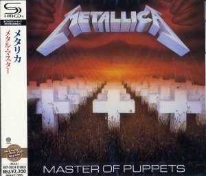 Metallica / Master Of Puppets (SHM-CD, 미개봉)