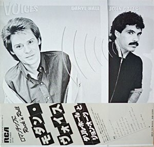 [LP] Daryl Hall & John Oates / Voices