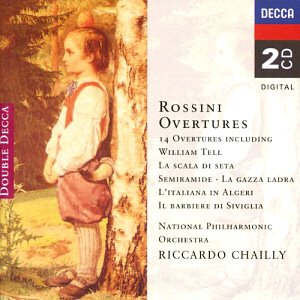 Riccardo Chailly / Rossini: 14 Overtures (2CD)