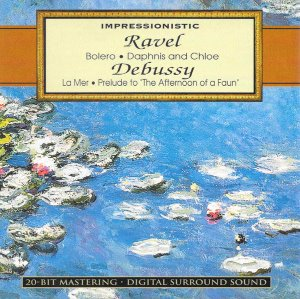 "Impressionistic: Ravel: Bolero · Debussy: Prelude to ""The Afternoon of a Faun"""