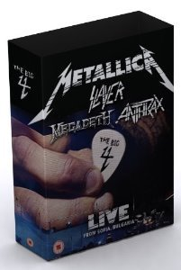 Metallica / Slayer / Megadeth / Anthrax / The Big 4: Live From Sonisphere (2DVD+5CD, LIMITED SUPER DELUXE BOX SET)