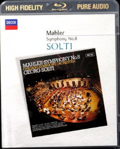 [Blu-ray Audio] Georg Solti / Mahler: Symphony No. 8 in E flat major 'Symphony of a Thousand'