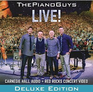 The Piano Guys / Live! (CD+DVD, DELUXE EDITION) (홍보용)