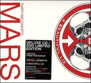 30 Seconds To Mars / A Beautiful Lie (CD+DVD, Deluxe Edition) (미개봉)