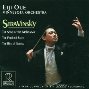 Eiji Oue, Minnesota Orchestra / Stravinsky: The Song of the NIghtingale, The Firebird Suite, The Rite of Spring (HDCD)