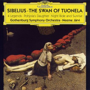 Neeme Jarvi / Sibelius: The Swan Of Tuonela, 4 Legends, Pohjola's Daughter, Night Ride And Sunrise (미개봉)‎