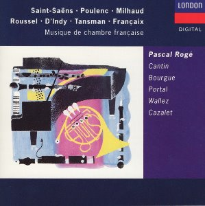 Pascal Roge, Cantin, Portal, Cazalet / French Chamber Music (홍보용)