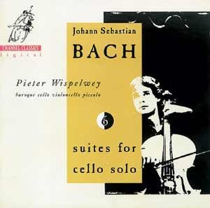 Pieter Wispelwey / Bach : Suites for Violoncello Solo BWV 1007-1012 (2CD)