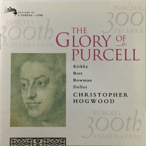 Christopher Hogwood, The Academy Of Ancient Music / The Glory Of Purcell (홍보용)