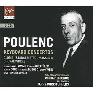 Harry Christophers / Richard Hickox / Poulenc : Keyboard Concertos (5CD, BOX SET)