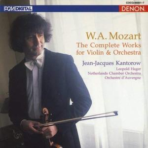 Jean-Jacques Kantorow / Mozart: The Complete Works for Violin & Orchestra (7CD, BOX SET)