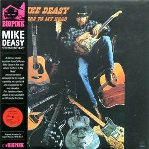 Mike Deasy / Letters To My Head (LP MINIATURE, 미개봉)