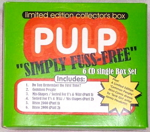 Pulp / Simply Fuss-Free (6CD, BOX SET, LIMITED EDITION)