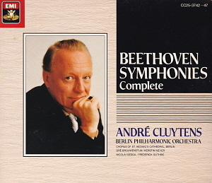 Andre Cluytens / Beethoven: Symphonies Complete (6CD, BOX SET)