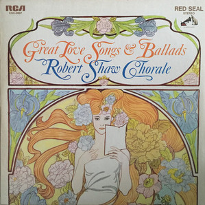 [LP] Robert Shaw Chorale / Great Love Songs & Ballads (2LP)