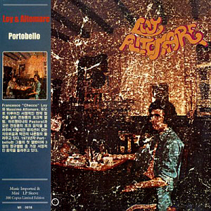 Loy & Altomare / Portobello (LP MINIATURE, 미개봉)